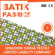 Indonesian Cotton Batik Fabric / Interlining Fabric / Italian Fabric