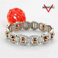 Mingfu gold bead shiny man bracelet indian beads jewellery designs