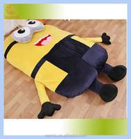 Tatami mat bed / Tatami Plush stuffed dispicable me minion sleeping bed floor leisure mattress pad