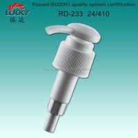 Chinese reliable supplier high quality!! plastic liquid dispenser pump, cosmetics bottle dispenser pump, lotion pump 24mm 28mm