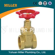 ML-1016 kitz a216 wcb chain wheel low price brass gate valve