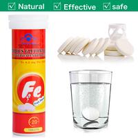 OEM Effervescent Tablet, Iron Effervescent Tablet, Nutritional Food Supplement