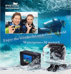 Go pro Extreme Action Helmet Sport Camera 1080P Waterproof mini DVR Underwater Full HD Sports DV video Cam