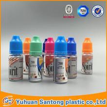 10ml 15ml 20ml 30ml clear plastic essential oil e liquid dropper bottles