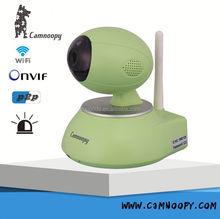 Onvif H.264 PT pan&tilt Wireless PT ip camera Two-way audio 128GB SD card convert analog cctv to ip camera Max 64ch alarm sensor
