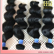 Lasting more than two years high quality keep texture well tight curl weaving human hair