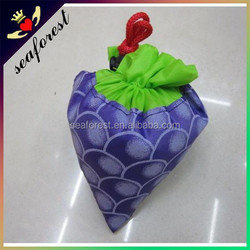 Fruit shape foldable shopping bag folding shopping bag