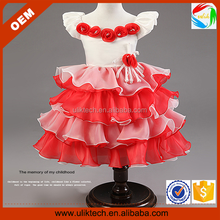 Best selling 2015 girls frocks dresses for party (Ulik-A0032)