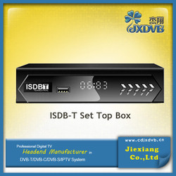 2015 Made IN China ISDB-T 1080P HD SET TOP BOX for Chile