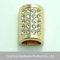 Lingying wholeasle metal cheap custom 3D swimwear connector