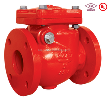 FM UL Approved 300PSI swing check valve