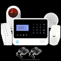 Well-design slap-up anti-theft alarm GS-G90E,wireless GSM intrusion alarm system host with APP/SMS function