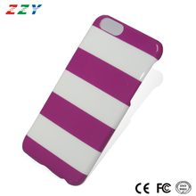 New business idea free sample IMD Technology color stripe pc material mobile phone case, cell phone case, smartphone case