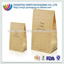 Recycled retail paper shopping bags wholesale