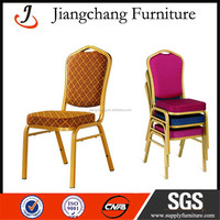 Iron Hotel Chair Wholesale Price For Banquet JC-G102