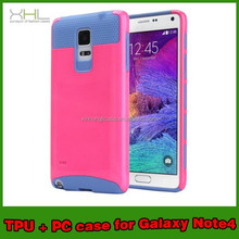 mobile phone accessories 2015 hybrid case for samsung galaxy note 4
