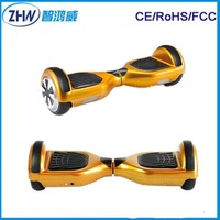 BEST 2 Wheel Electric Self Balancing Scooter Mini Hoverboard with LED Lights and Bluetooth Speaker