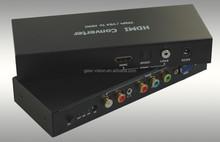 VGA+YPbPr+RCA+3.5mm (Audio) to HDMI+S/PDIF Converter