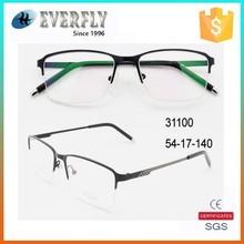 china manufacturer OEM wholesale black metal frames, eyewear 2015
