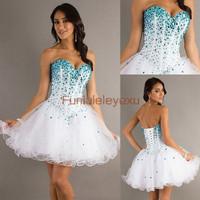 Платье на студенческий бал Homecoming