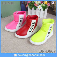 children kids boots casual leather love shoes high quality