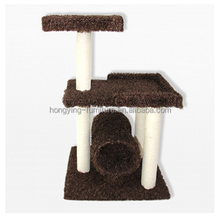 Euro newly design luxury 37'' condo cat tree, cats playing house