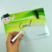 New type Magnet white Board with Erasable pen