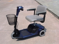 Three or 3 Wheel Mobility Scooter Electric Handicapped Scooter