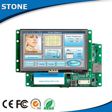 "4.3"" tft active matrix lcd with touch control and wide voltage"
