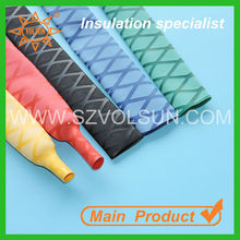 Heat shrinkable polyolefin sleeving for fishing rod