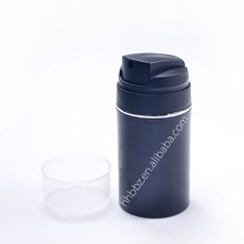 50ml 75ml shine black pp bottle and gel deodorant container