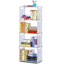 Study room furniture kids DIY portable storage rack folded storage shelf
