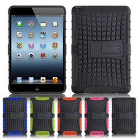 New Tough Shock Proof Case Protective Cover Stand For Apple iPad Mini 1/ Mini 2