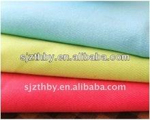 Llano teñido t/c sarga de tela para la fabricación de pantalones