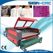 paper/fabirc/wood/plastic/acrylic auto feeding cnc laser cutting machines