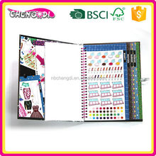 Special beautiful children sticker book, baby cloth photo book, all kinds of children book