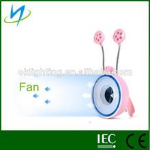 póquer copa los titulares de protección para los ojos led portátil soporte de la novedad de la lámpara led con el ventilador
