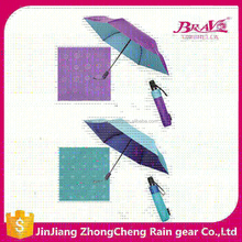 UV protection auto open and close waterproof umbrella