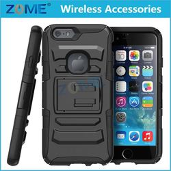 wholesalealibaba diy cell phone Rubberized PC+TPU Dual Holster Combo case /cover with wheels FOR iphone 4 4gs
