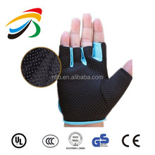 Rubber Weight Lifting Grips Training Gym Gloves Hand glove