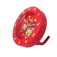 Promotional Cheap Digital Alarm Round Shaped Clock For Home Decor