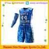 custom latest sublimation basketball jersey design china supplier