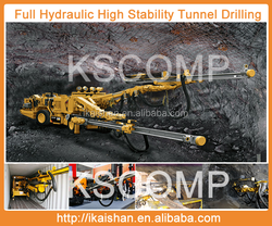 2015 Best Selling Tunnel KSCOMP KJ311,Full HydraulicTunneling, High stability Hydraulic pneumatic rock Rotary