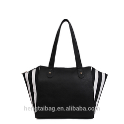 shopping canvas tote bag leather