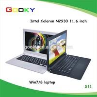 china laptop 11.6 inch Mini Intel Celeron good quality low price mini laptop