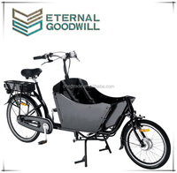 2wheels coaster brake electric cargo bike/cargo tricycle e bike/bakfiets electirc tricycle cargo bike UB9015E