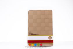 folio leather case for ipad mini 2 , plaid for ipad mini 2 case