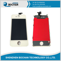 OEM Original White Touch Digitizer LCD Screen Assembly for iPhone 4 Mobile Phone Parts