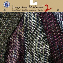 2015fashion winter calypso tweed fabric for cloth shoes