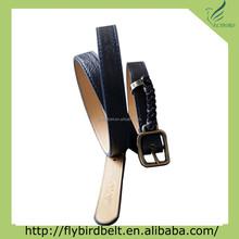 1inch wristband fashion leather woman belt, lady belt